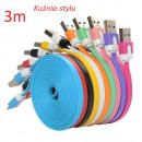 Micro USB Kabel 3m FLAT