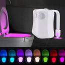 WC LIGHT LED LAMP MOTION SENSOR DUSK