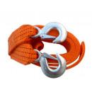 wholesale Car accessories: Towing cable 3 TONS + HOOKS - LINE BELT TAPE