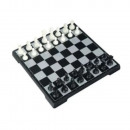 2-IN-1 TRAVEL CHESS AND MAGNETIC CHECKERS