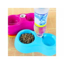 Bowl water dispenser for a cat dog dual automatic
