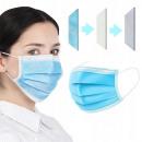 Masques de protection à trois couches