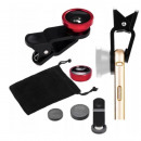 wholesale Photo & Camera: SMARTPHONE LENS 3-IN-1 SET FISH EYE FISH EYE