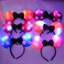 UITZENDT EARS band Mickey Mouse LED BOW