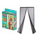 MOSQUITO NET FOR A MESH WITH MAGNET 210X100 MESH
