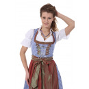 wholesale Costume Fashion: Ginaz Ladies  Dirndl costumes Midi 3.tlg Set 1012