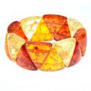 grossiste Bijoux & Montres:Triangle bracelet ambre