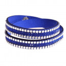 Großhandel Schmuck & Uhren: Helle Augen Armband, königsblau