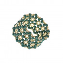 Großhandel Schmuck & Uhren: Narukvica Perlen Armband grün