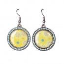 groothandel Sieraden & horloges:Bolda oorbellen, geel