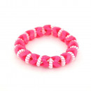 groothandel Sieraden & horloges:Candy armband, roze