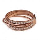 grossiste Bijoux & Montres: Aisa Les points bracelet, brun clair