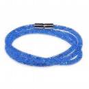 grossiste Bijoux & Montres: Bracelet mica, bleu royal