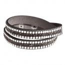 Großhandel Schmuck & Uhren: Armband helle Augen, grau