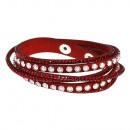 grossiste Bijoux & Montres: taches Aisa bracelet en rouge