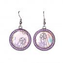 groothandel Sieraden & horloges:Bolda oorbellen, paars