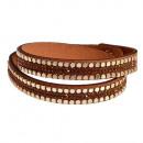 Großhandel Schmuck & Uhren: Helle Augen Armband braun