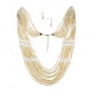 grossiste Bijoux & Montres: Set Collier de perles rapides