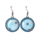 groothandel Sieraden & horloges:Bolda oorbellen, blauw