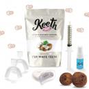 grossiste Soins Dentaires: Kit de blanchiment dentaire noix de coco Keeth
