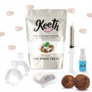 groothandel Tandverzorging: Keeth Coconut Teeth Whitening Kit