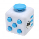 fidget CUBE WHITE AND BLUE
