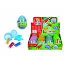 wholesale Toys: by Art & Fun  kneading dino eggs, 4-fold