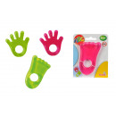 wholesale Baby Toys: by ABC teething rings, 4-fold