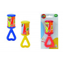 wholesale Baby Toys: ABC Kling Klang  rattle, assorted 3-fold