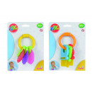 wholesale Baby Toys: ABC rattle with  Beißelementen, 2 assorted