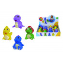 wholesale Baby Toys: ABC vinyl dinosaurs, 4 assorted