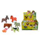 hurtownia Zabawki: Miękkie zwierzęta  gospodarskie 6-krotnie