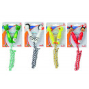 Skipping rope with  animal handle, 4 assorted