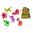 wholesale Blocks & Construction: Dino Cartoon sorted 6-fold