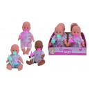 Großhandel Babyspielzeug: NBB Vinylbaby, 3-fach sortiert