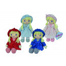 wholesale Dolls &Plush: ML Dolly rag doll, 4 assorted