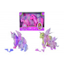 wholesale Toys: Sweet Pony Mother  + Child Fairy-Set, 3-s.