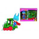 wholesale Toys: Masha superhero with train