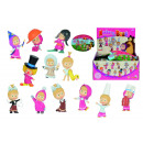 wholesale Dolls &Plush: Masha  Sammelfiguren sorted 12x
