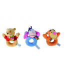 wholesale Licensed Products: Disney WTP Baby,  rattle, assorted 3-fold