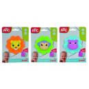 Großhandel Puppen & Plüsch: ABC Tierrassel, 3-fach sortiert