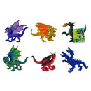 wholesale Toys: Dragons, 6 times assorted
