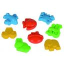 Großhandel Spielzeug: Sandformen lose, 8-fach sortiert