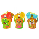 set seau animal bébé, 3 fois assorti