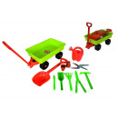 wholesale Garden Equipment: Hand car with garden tools