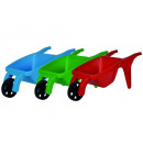 Wheelbarrow stackable, 3- times assorted