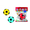 wholesale Balls & Rackets: Soft football, 3 times assorted