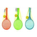 wholesale Balls & Rackets: Softball-Tennis  Junior, 3- times assorted