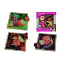 Großhandel Spielwaren: Masha  Einlegepuzzle, 4-fach sortiert