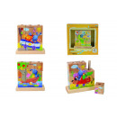 wholesale Mind Games: KiKANiNCHEN Picture cube puzzle